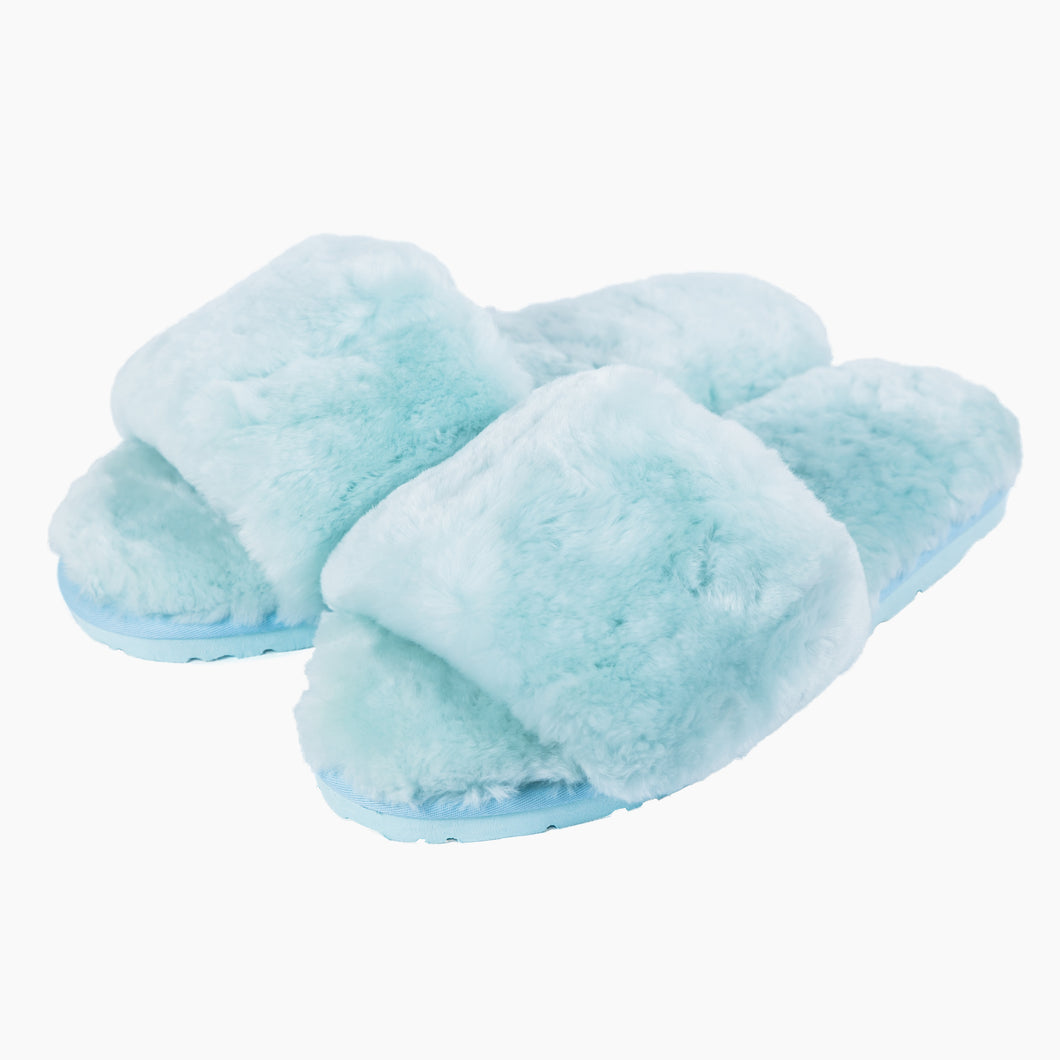 Sage Slippers - Ice Blue