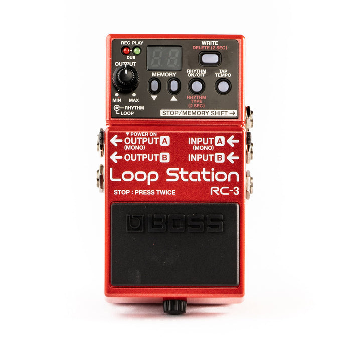 Boss RC-3 Loop Station Loop-Pedal - BORG SOUND