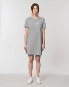 T-Shirtkleid - I can. I will. End of Story. | Bio & Fair