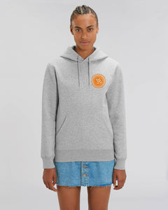 "Unisex-Hoodie ""Om"" ॐ Heather Grey 