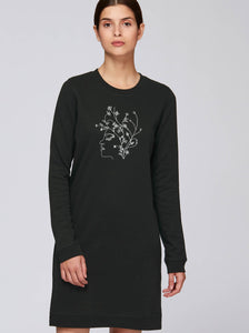 Sweatshirtkleid – Flowerhead | Bio & Fair