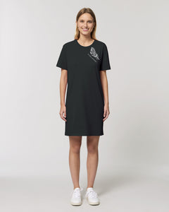 T-Shirtkleid - Ich wähle Leichtigkeit | in Kooperation mit Fair Coachings | Bio & Fair