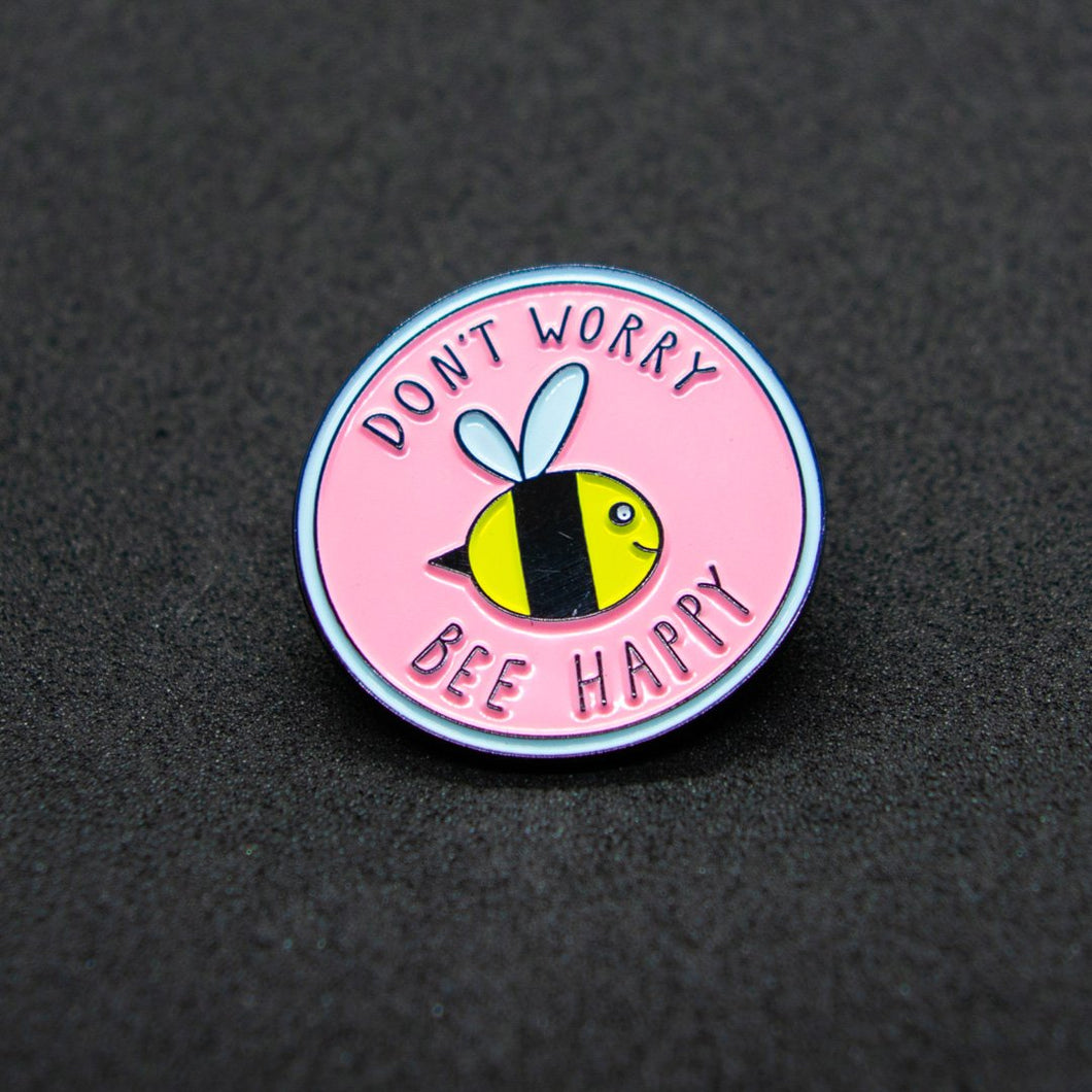 Pin Bee Happy