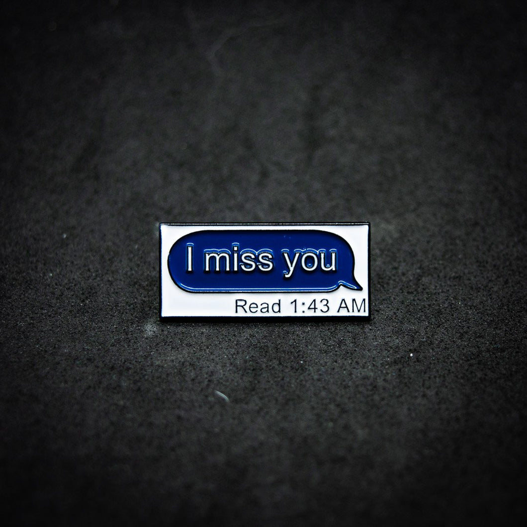 Pin I miss you (read)