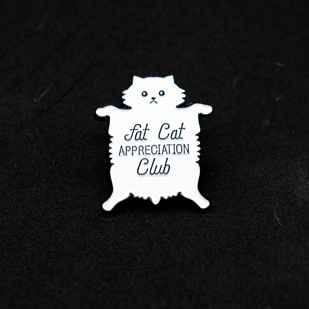 Pin Fat Cat Club