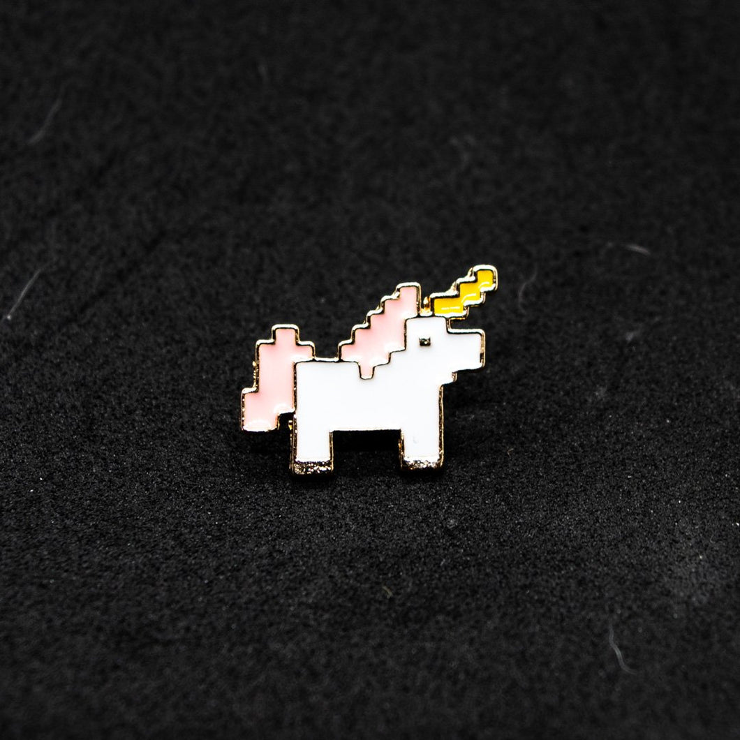 Pin Unicornio Pixel