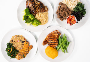 Customize Your Meal Size! Extra. Strength.
