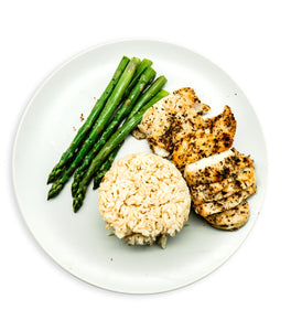 Herb Grilled Chicken and Brown Rice