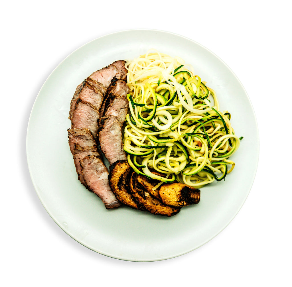 Teriyaki Steak with Mixed Vegetables 10% OFF