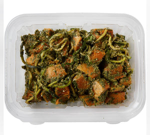 Kale Walnut Pesto, roasted Butternut Squash, Zucchini noodles and Cashew Parmesan 15% OFF