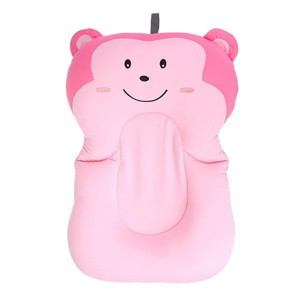 Baby Shower Portable Air Cushion Bed Babies Infant Baby Bath Pad Non-Slip Bathtub Mat NewBorn Safety Security Bath Seat Support - www.inoutcool.com