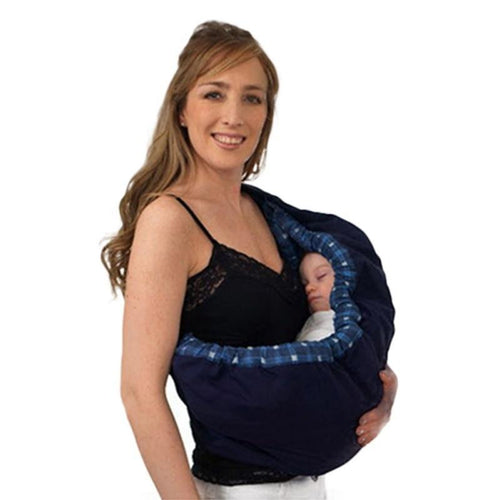 Baby Carrier for Comfort, Feeding & Versatility. Front & Cradle Carrier for Newborns to 1 year - InOutCool