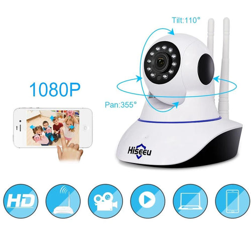 1080P IP Camera Wireless Home Security IP Camera Surveillance Camera Wifi Night Vision CCTV Camera Baby Monitor - InOutCool