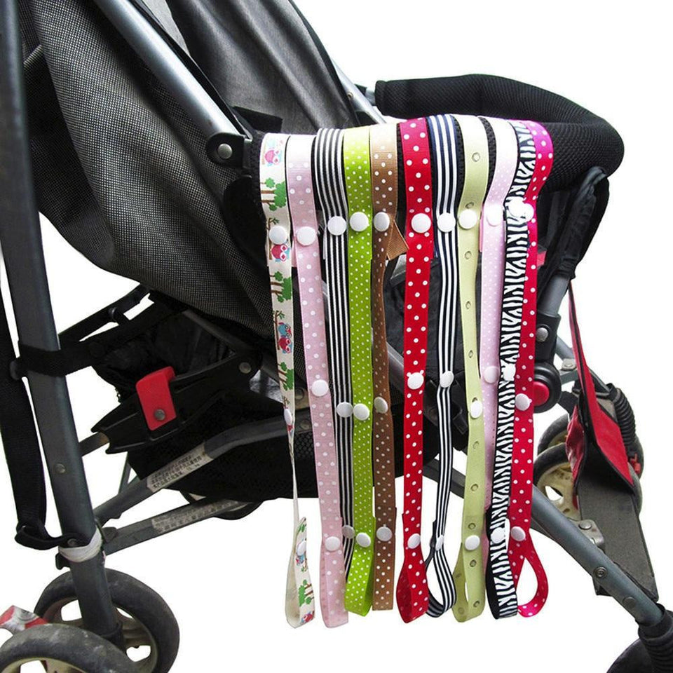 Baby Sippy Cup Strap, Bottle Holder, Adjustable Cup Strap, Stroller, Travel, Toy Clips and Seat Universal Attachment Strap, Multipurpose - InOutCool