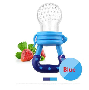 Silicone Baby Pacifier Infant Nipple Soother Toddler Kids Pacifier Feeder For Fruits Food Nibler Dummy Baby Feeding Pacifier - InOutCool