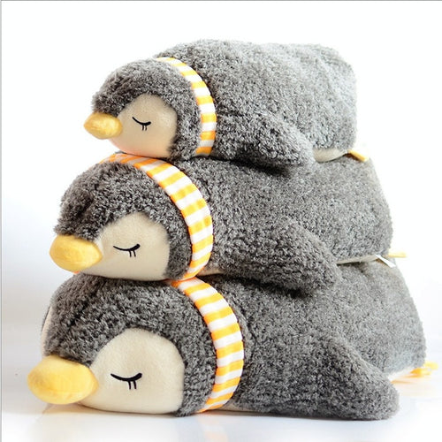 Sleeping Penguin Hugging Pillow