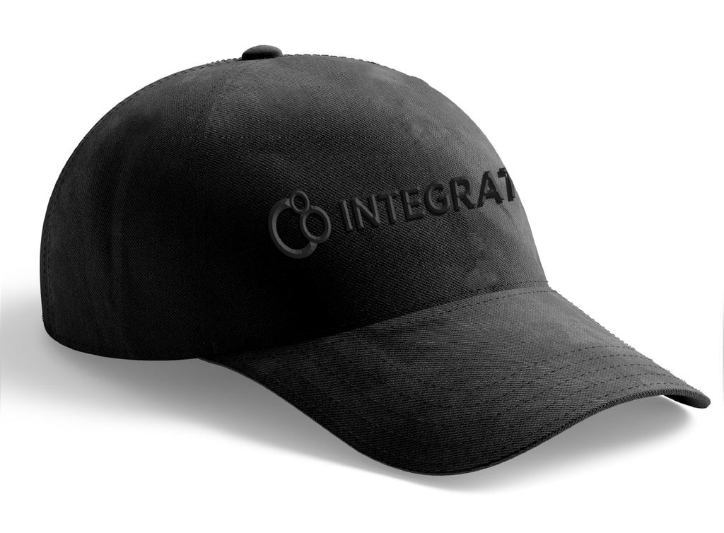 Integrate Hat (Black Letters)