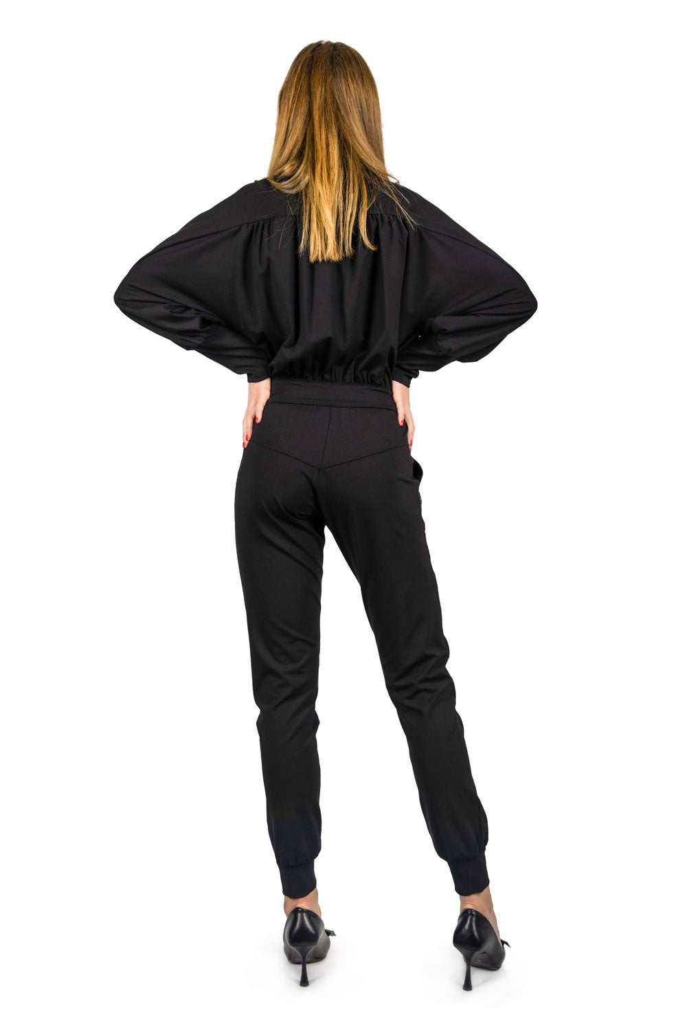 ELASTIC COTTON JUMPSUITS