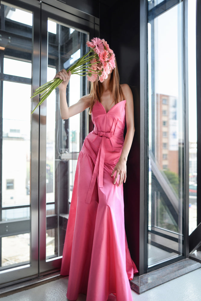 Royal Pink Gown