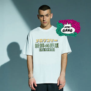 """ Angry Broccoli "" T-Shirt Streetwear"