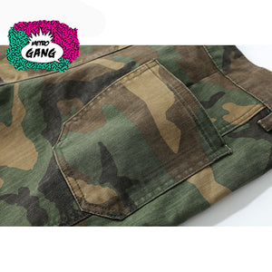 """ Camouflage Revisited "" Joggers Cargo - MetroGang Streetwear"