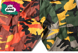 "Pantalone ""Double Camouflage"" Jogger - MetroGang Streetwear"