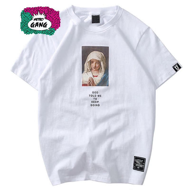 """ God Blessed Me "" T-Shirt Streetwear"