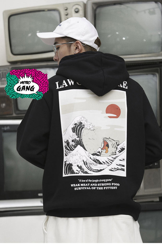 """ Law of Nature "" Hoodie Streetwear"