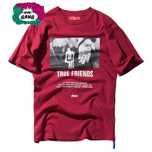 """ True Friends "" T-Shirt Streetwear"