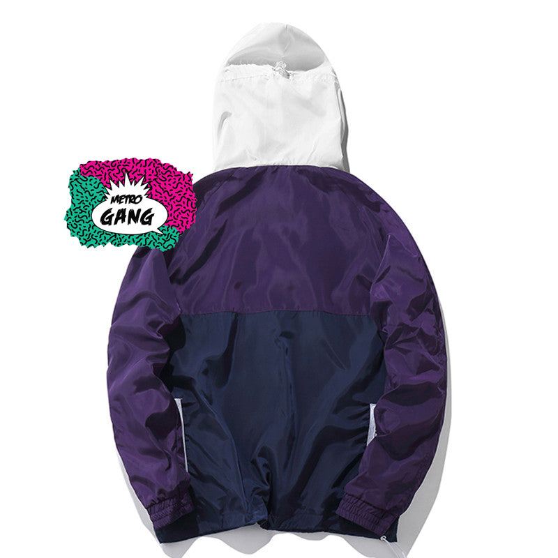 "Giacca a vento "" You Are "" Windbreaker - MetroGang Streetwear"