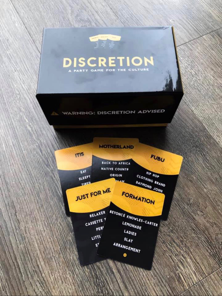 Pre-order DISCRETION Game (*See Below Information*) - Discretion Game