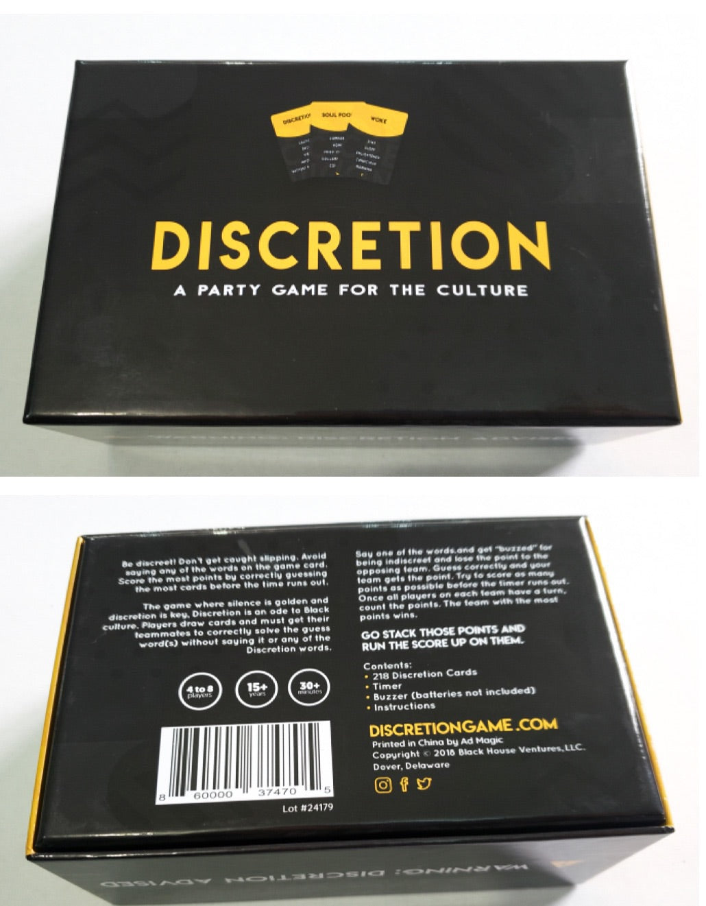 DISCRETION Game - Discretion Game