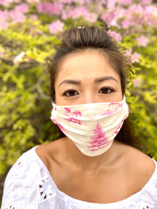 """Picnic in the Park"" Pack of 5 Face Masks"