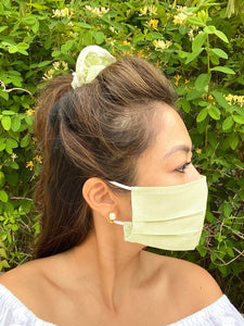 """In the Garden"" Mask and Scruchie Set"