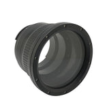 Flat long port for A6xxx series Salted Line (18-105mm & 18-135mm and Sigma 16mm lenses) UW housing