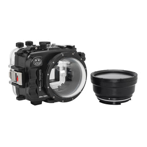 "Salted Line underwater housing for Sony A6xxx series with 4"" Dry Dome Port / GEN 3"