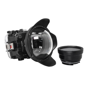 "Salted Line underwater housing for Sony A6xxx series with 6"" Dry dome port / GEN 3"