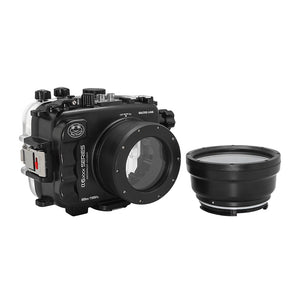 Salted Line underwater housing for Sony A6xxx series with 67mm threaded short / Macro port / GEN 3