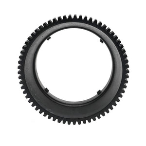 A6xxx series Salted Line focus gear for Samyang 8mm F2.8 lens