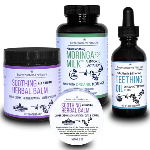 Sweetbottoms Naturals organic products for mom and baby