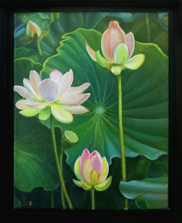 """Lotuses"" by Tatiana Roulin"