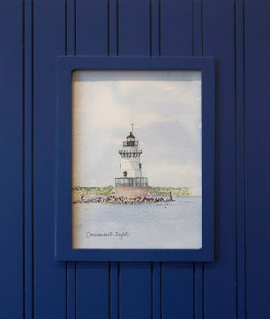 """Conimicut Light"" by Lynn Hughes"