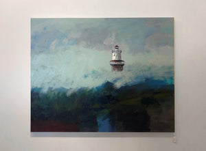 """Hog Island Light House"" by Jossy Lownes"