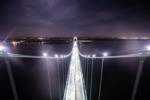 Newport Bridge by Brandon Thurber