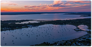 Bristol Harbor Sunset by Ethan Tucker