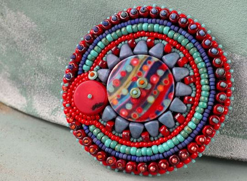 Hippie Brooch