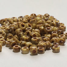 Load image into Gallery viewer, Matubo 03000-86805  - 8/0 Chalk Travertine Dark Seed Beads, 5 gm