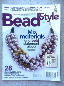 Bead Style Magazine January 2011