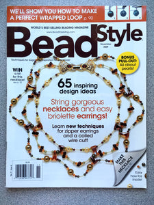 Bead Style Magazine November 2009