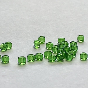 TOHO TR-11-7  11/0 Transparent Peridot Seed Beads, 5 gm